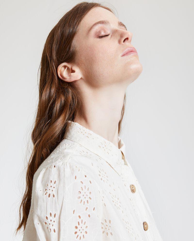 Vestito camicione in puro cotone