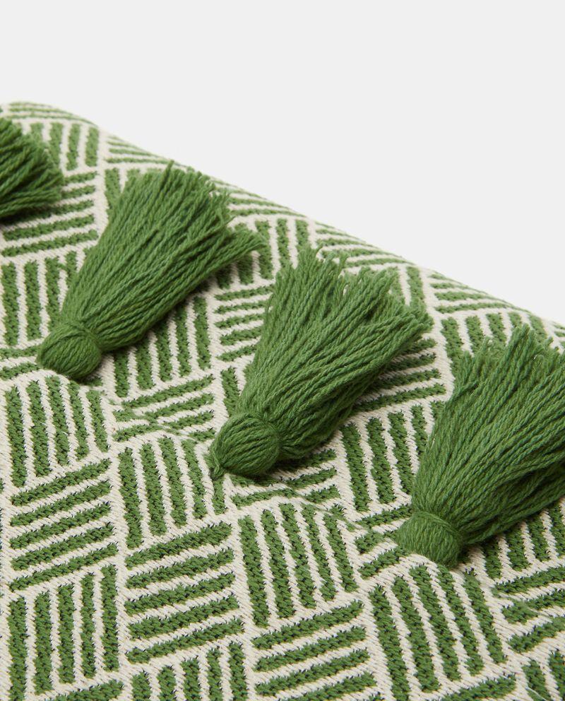 Telo arredo in cotone stretch con stampa rombi single tile 1