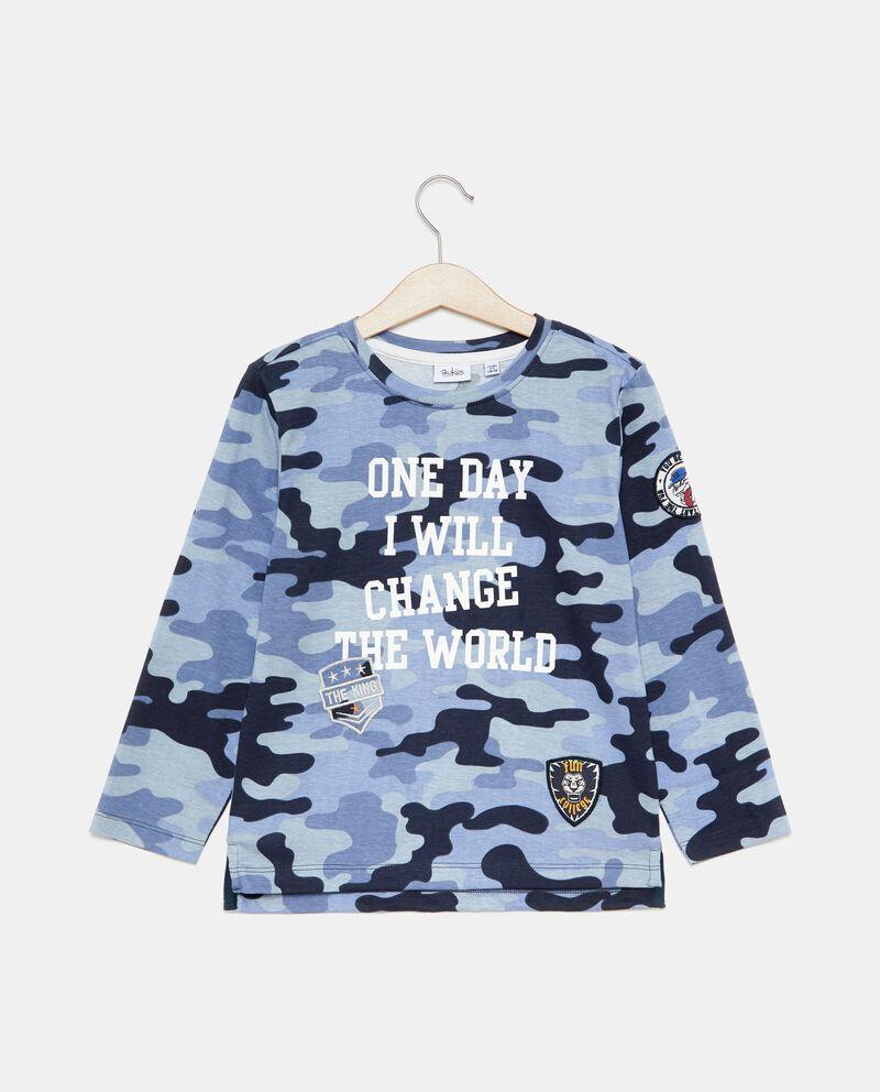 T-shirt fantasia militare bambino