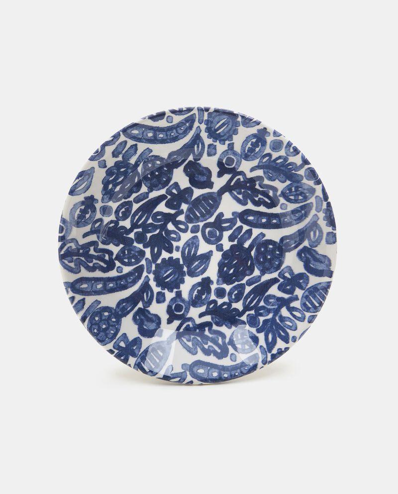 Piatto fondo con decorazioni in ceramica cover