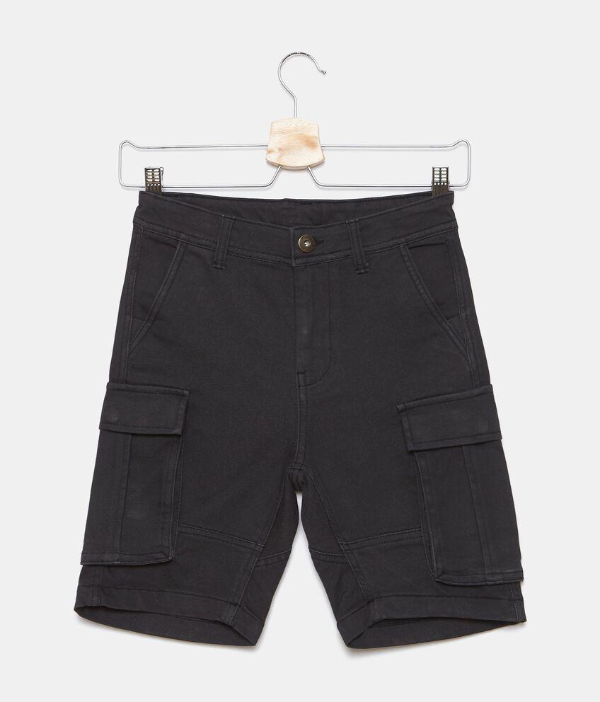 Shorts in felpa cargo ragazzo