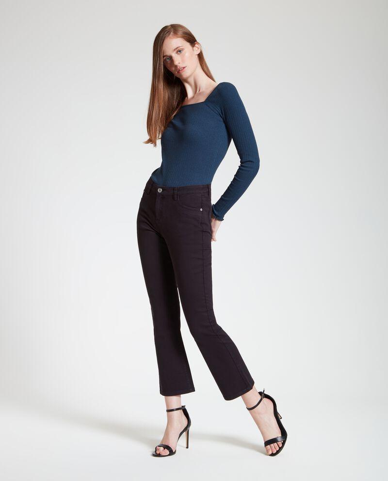 Pantaloni sgambati donna cover