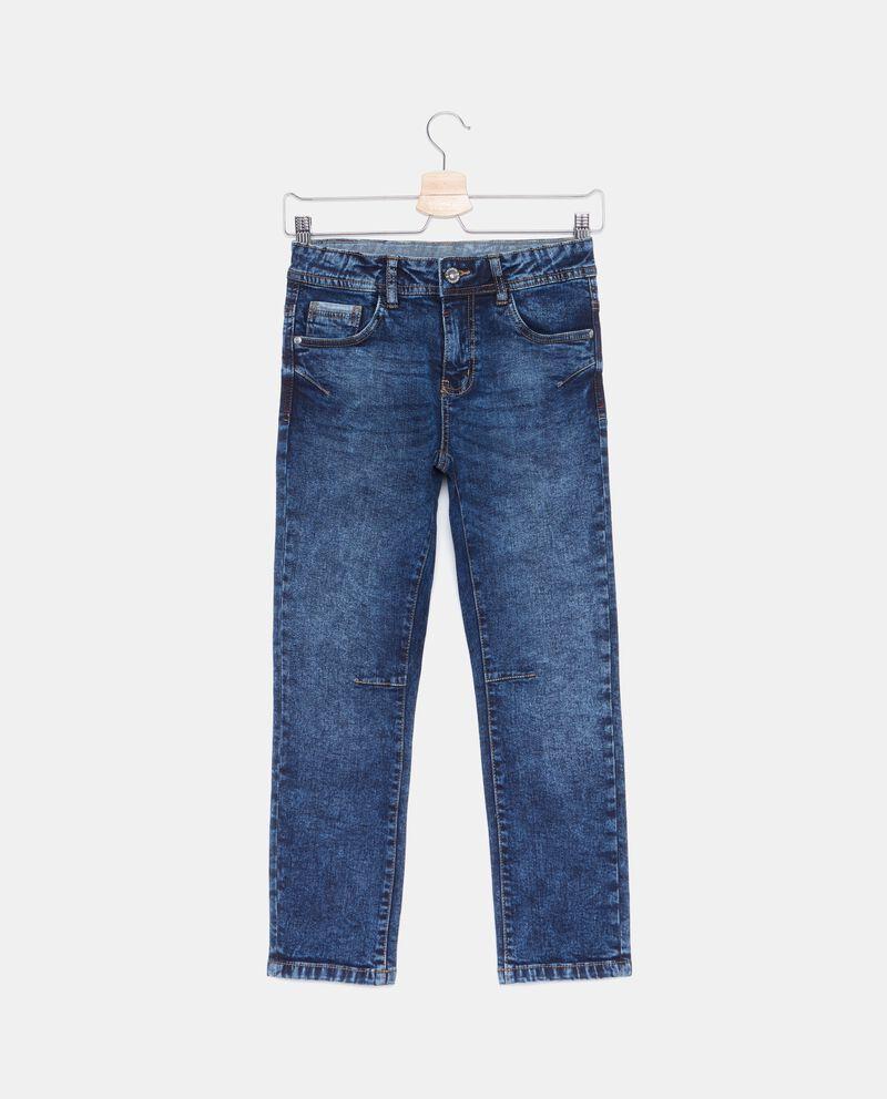 Jeans effetto delavato ragazzo