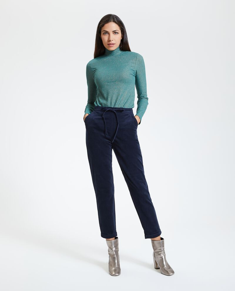 Pantaloni velluto donna
