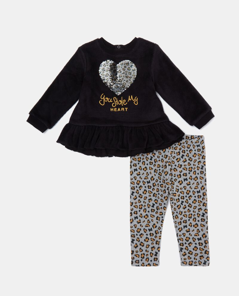 Set jogging animalier neonata