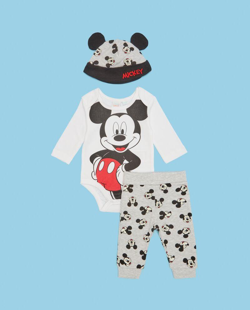 Completino nascita puro cotone Mickey Mouse