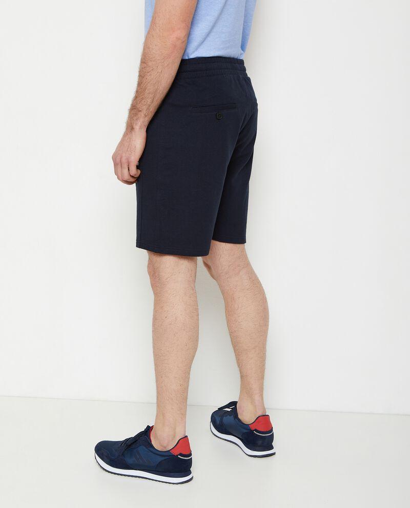 Pantaloncini joggers puro cotone single tile 1