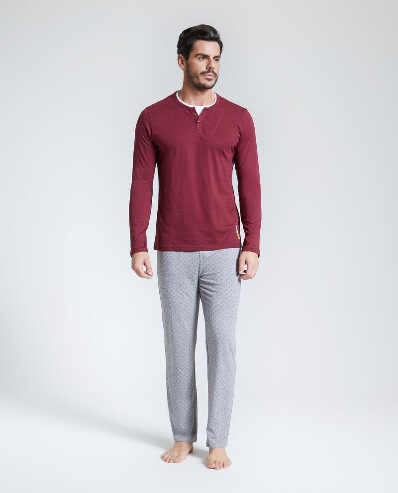 Set pigiama uomo puro cotone uomo