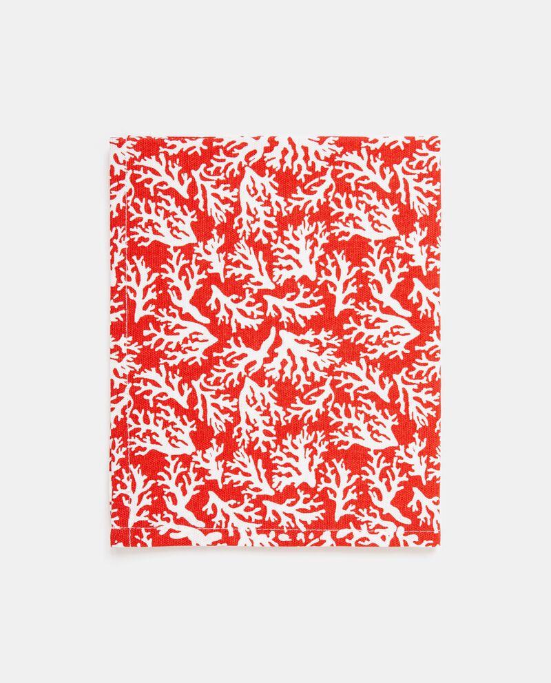 Set due tovagliette stampa coralli