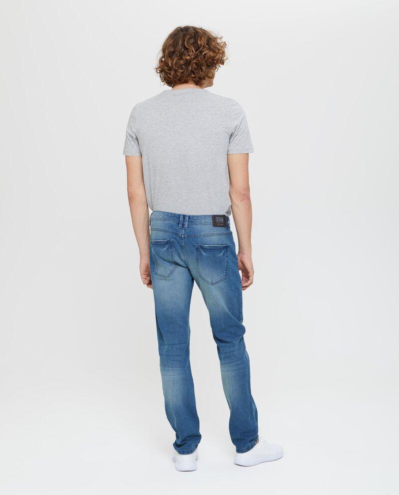Jeans skinny fit effetto delavato