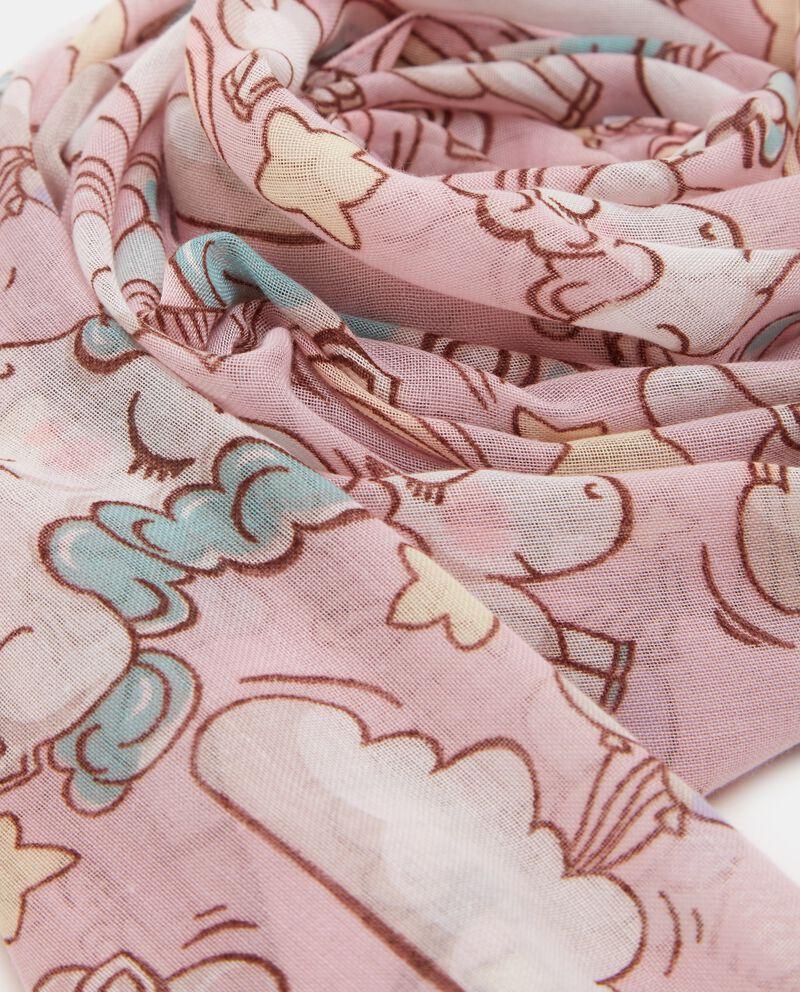 Sciarpa con fantasia unicorni