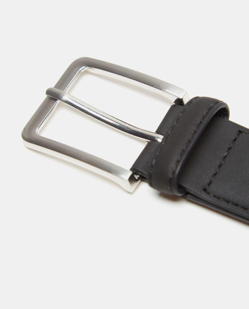Cintura effetto similpelle uomo