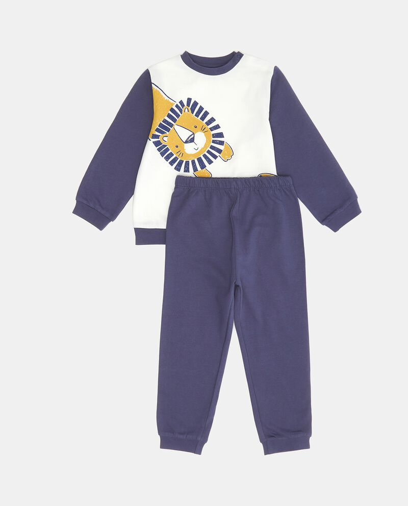 Set pigiama in puro cotone biologico neonato