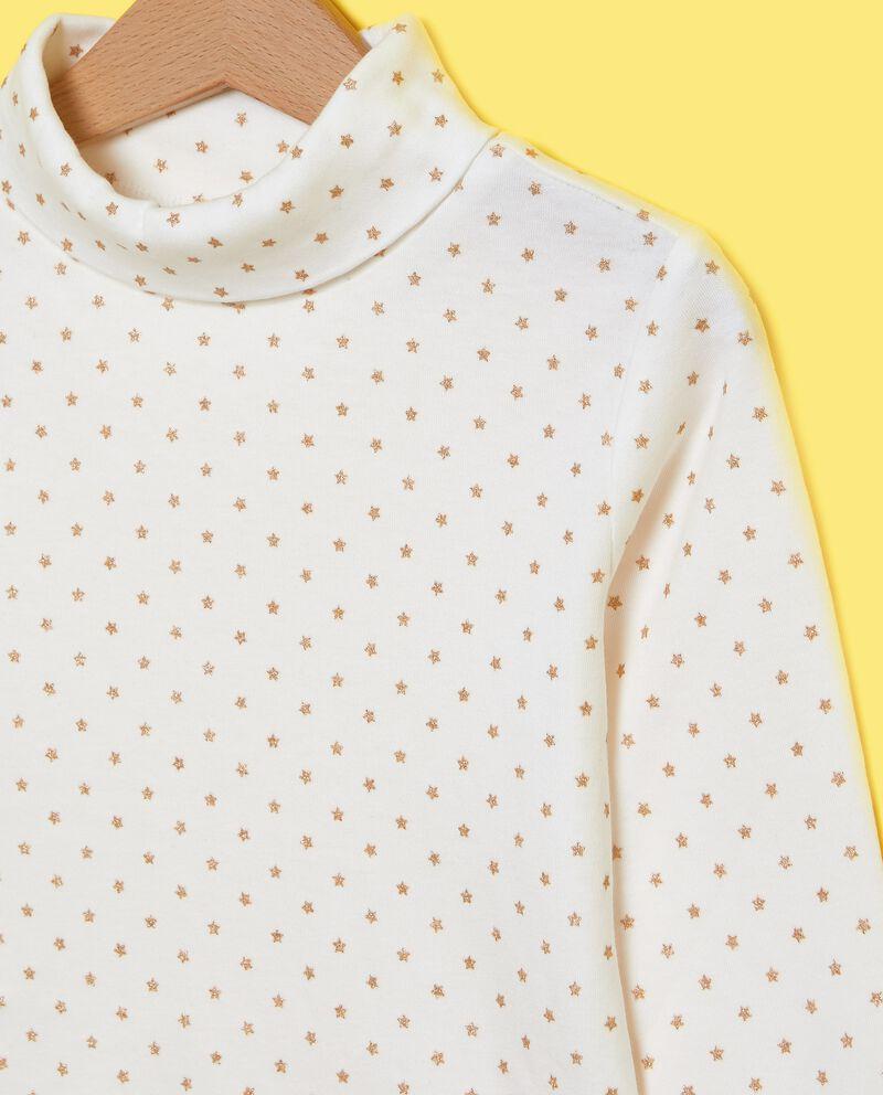 Maglietta con micro stelline bambina