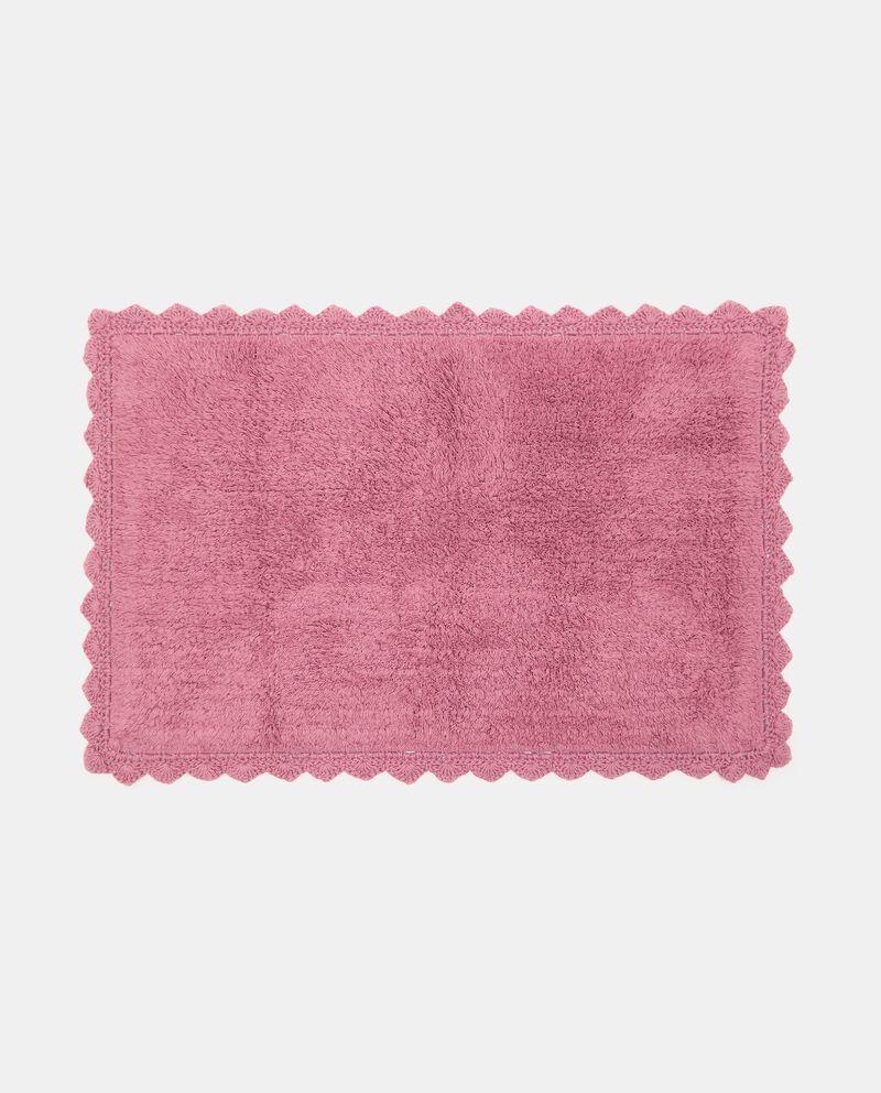 Tappeto bagno lace in puro cotonedouble bordered 0
