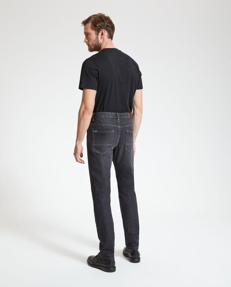 Jeans regular delavati uomo