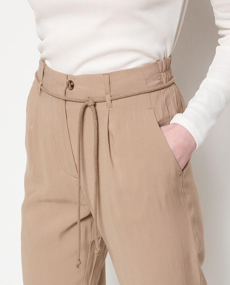 Pantaloni con coulisse donna single tile 2