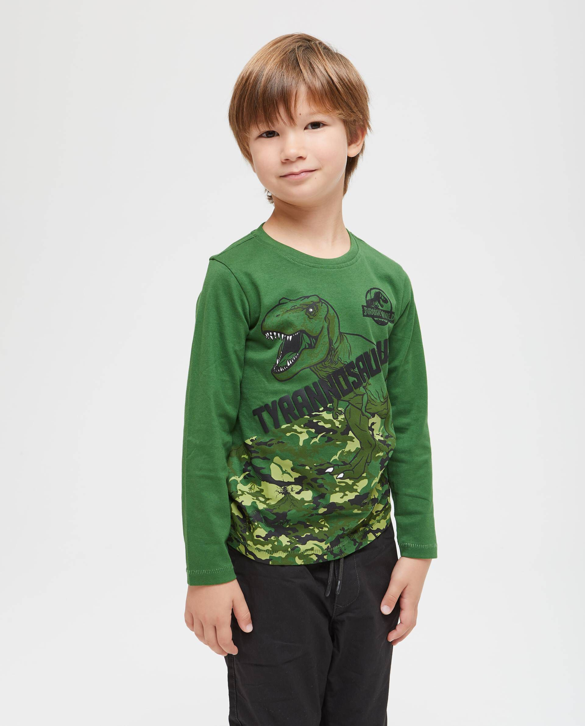 T-shirt maniche lunghe Jurassic World