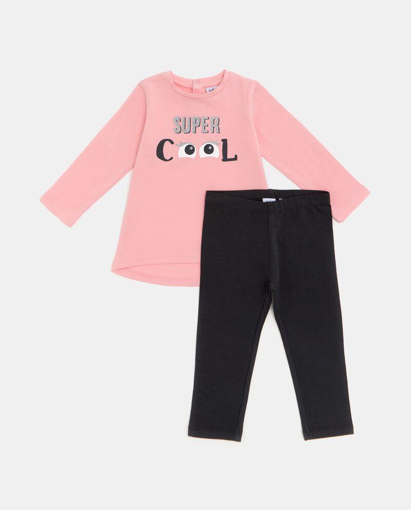 Set jogging t-shirt e leggings neonata