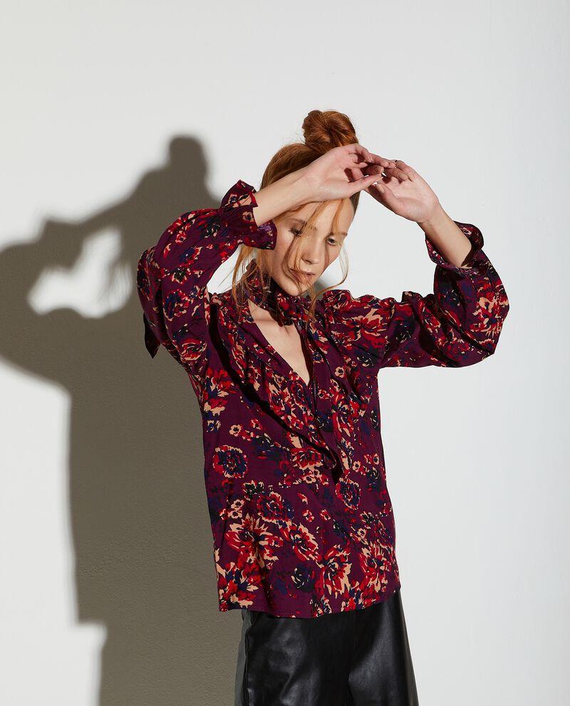 Camicia in fantasia floreale donna