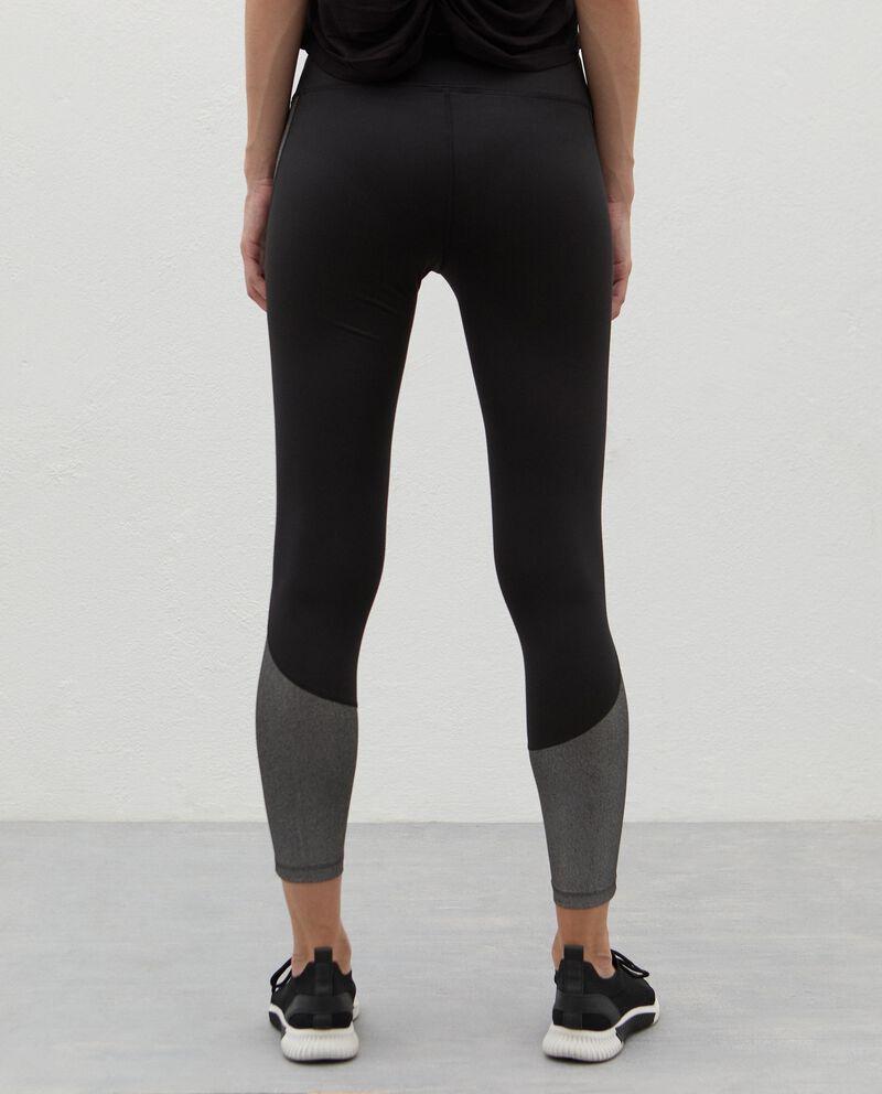Leggings con inserti Fitness donna single tile 1