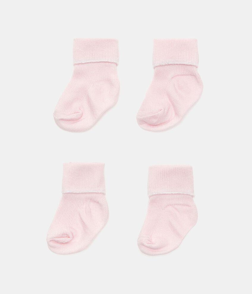 Bipack calzini tinta unita di puro cotone