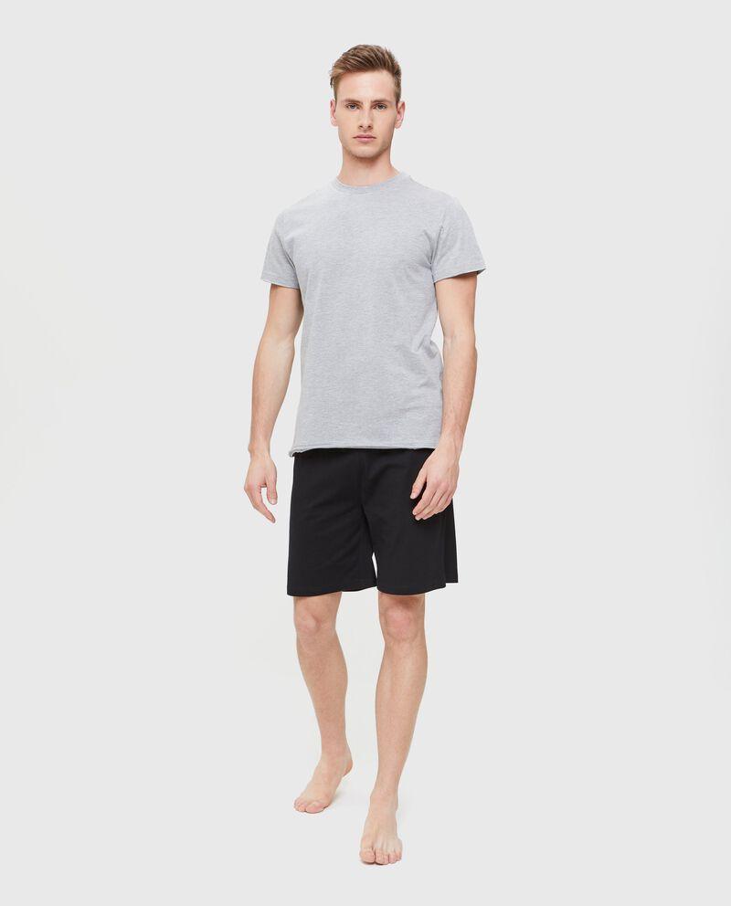 Shorts pigiama uomo in puro cotone