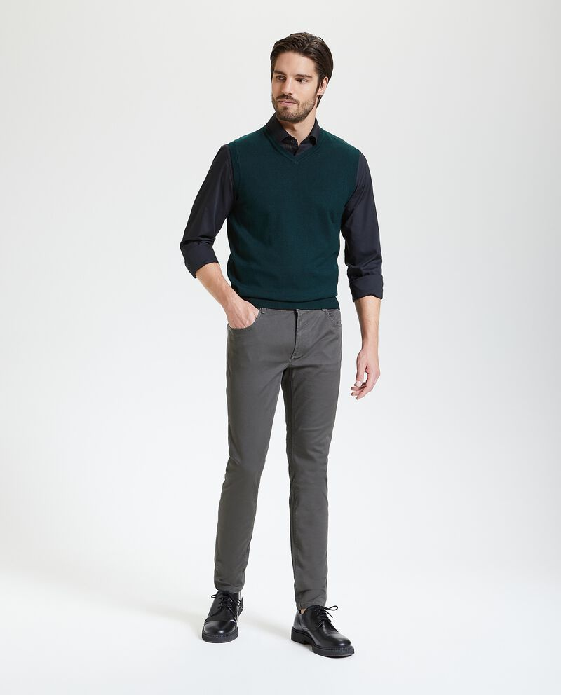 Pantaloni classici skinny uomo