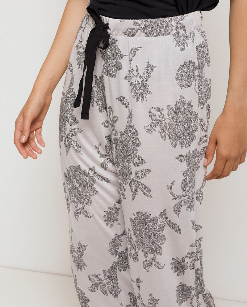 Pantaloni pigiama donna single tile 2