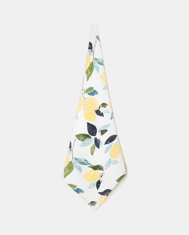 Strofinaccio in cotone fantasia limoni