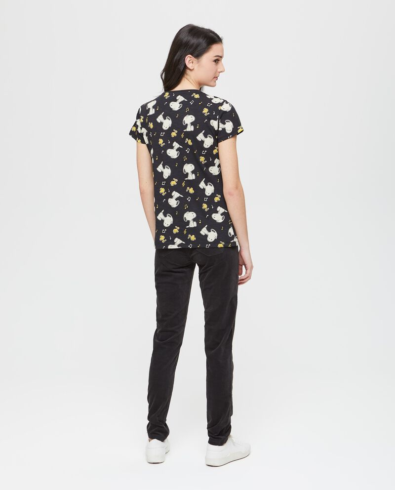 T-shirt fantasia Snoopy e Woodstock