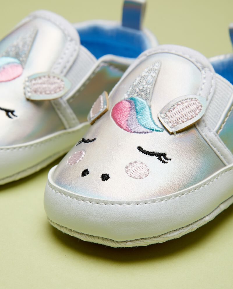 Scarpette unicorno neonata