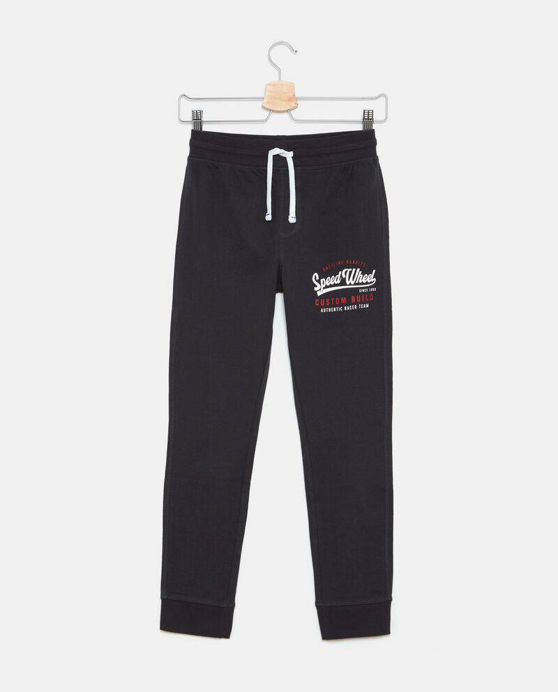 Pantaloni sportivi in puro cotone ragazzo