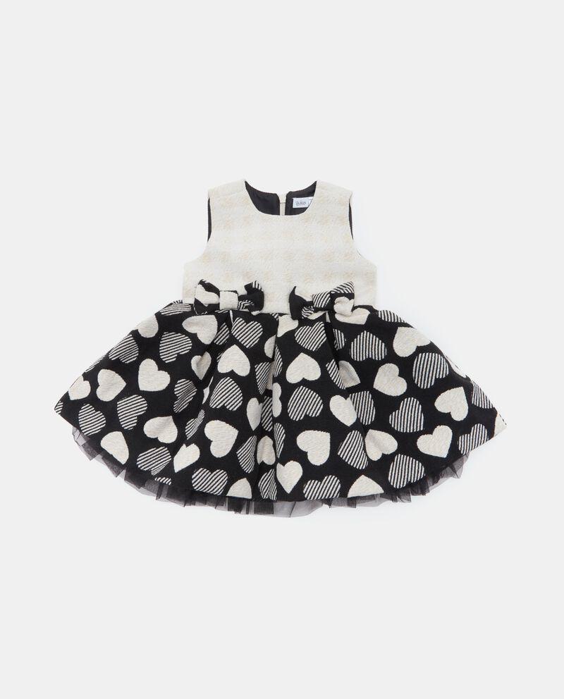 Vestito smanicato neonata