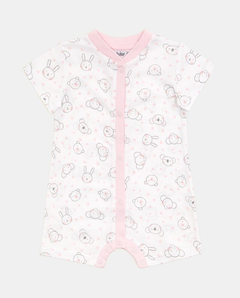 Body bebè con fantasia in puro cotone