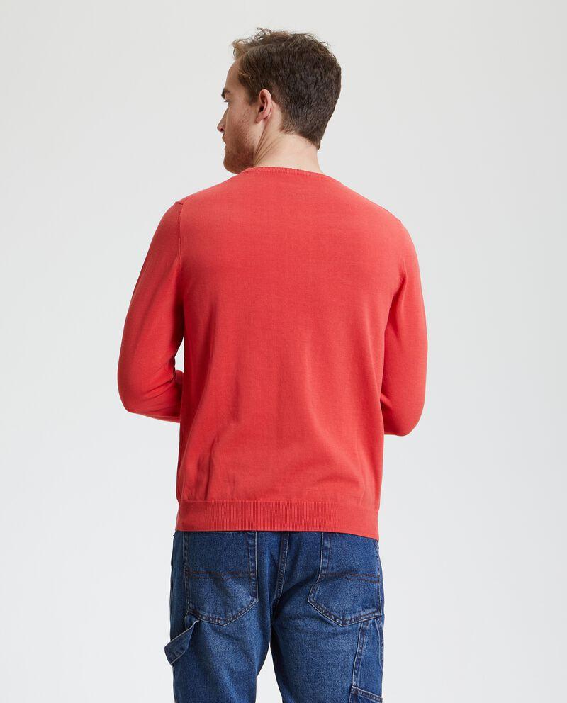 Pullover in puro cotone uomo single tile 1