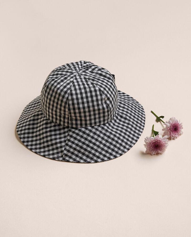 Cappello in popeline di cotone MADE IN ITALY