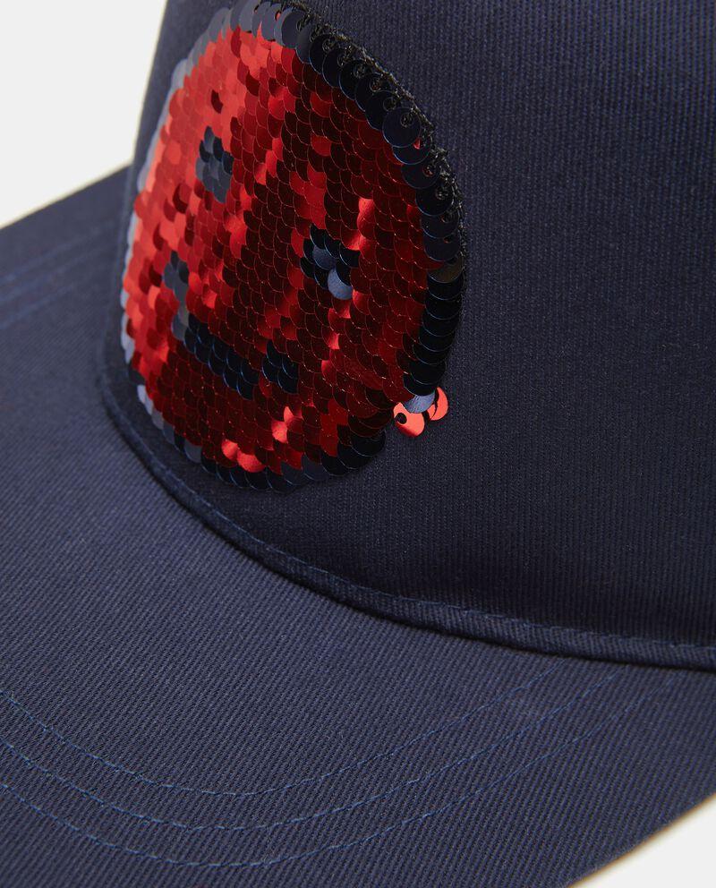 Cappello in cotone con paillettes bambino single tile 1