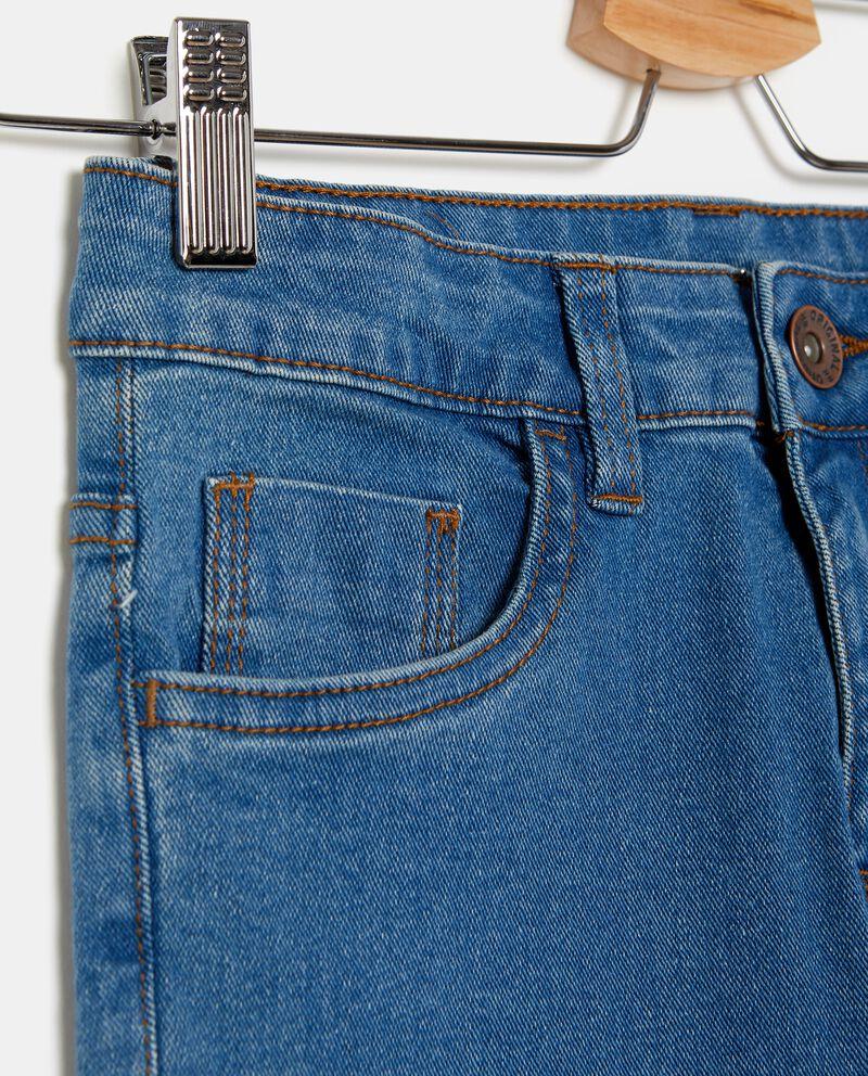 Jeans tinta unita