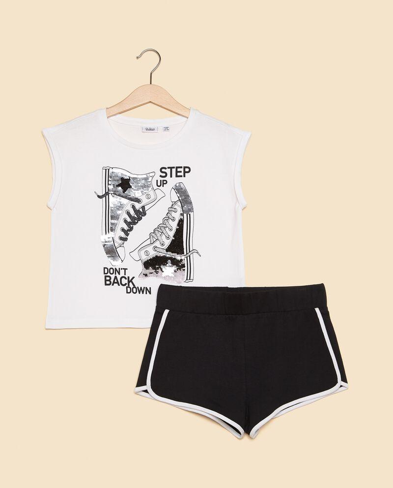 Set canotta e shorts ragazza