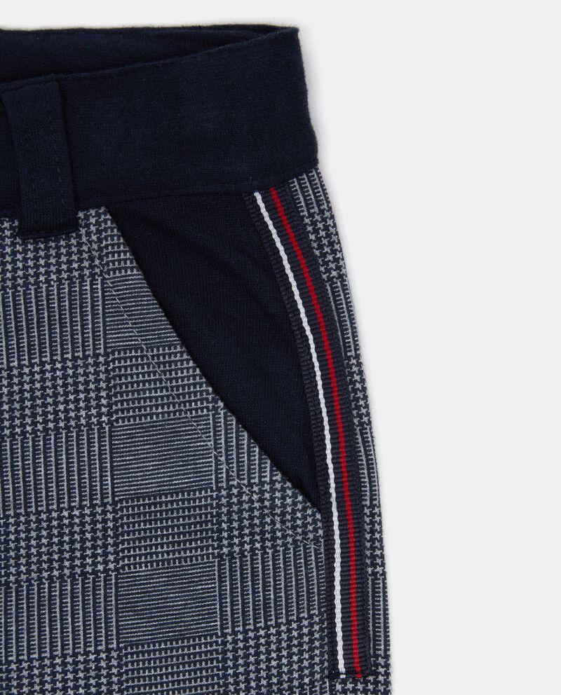 Pantaloni a quadri neonato