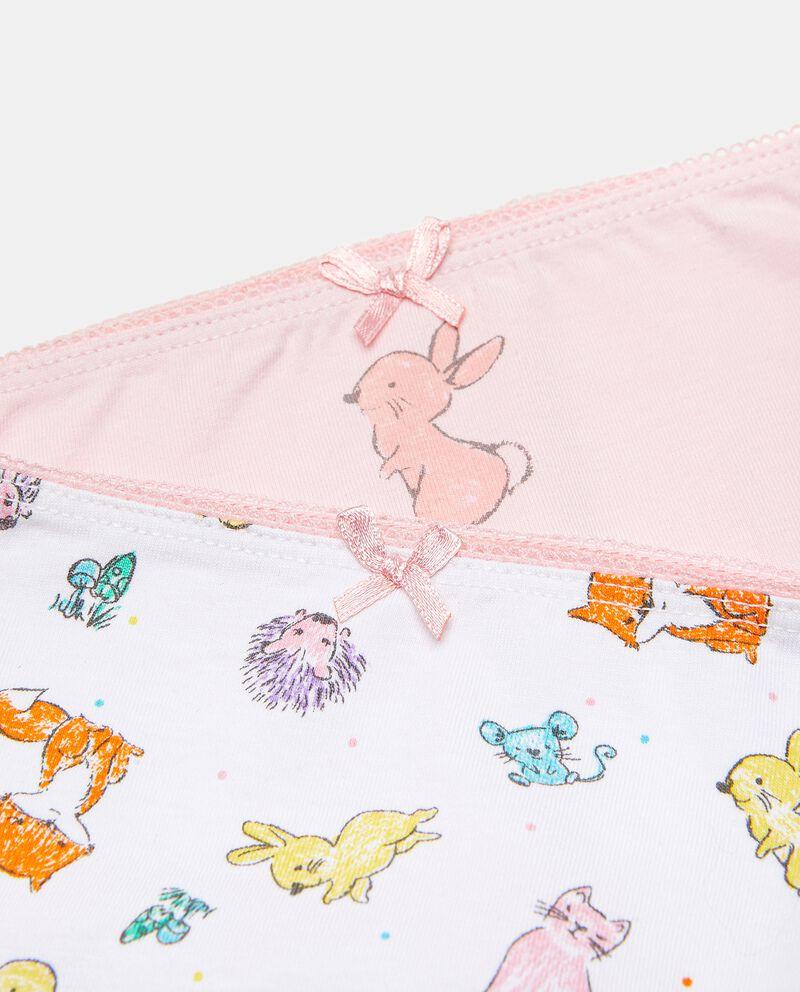 Bipack slip in cotone elasticato neonata