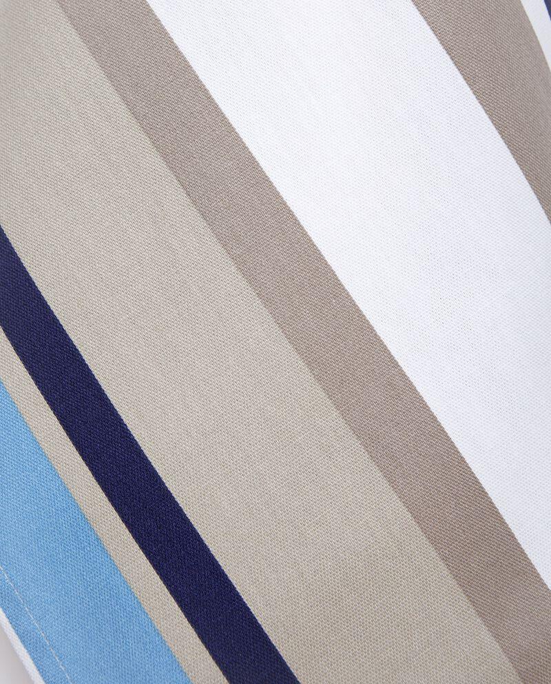 Strofinaccio multicolor con motivo a righe