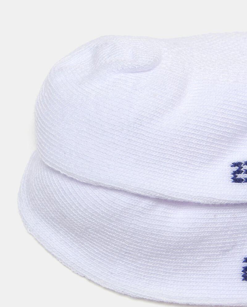 Calzini tinta unita in cotone elasticizzato bambino