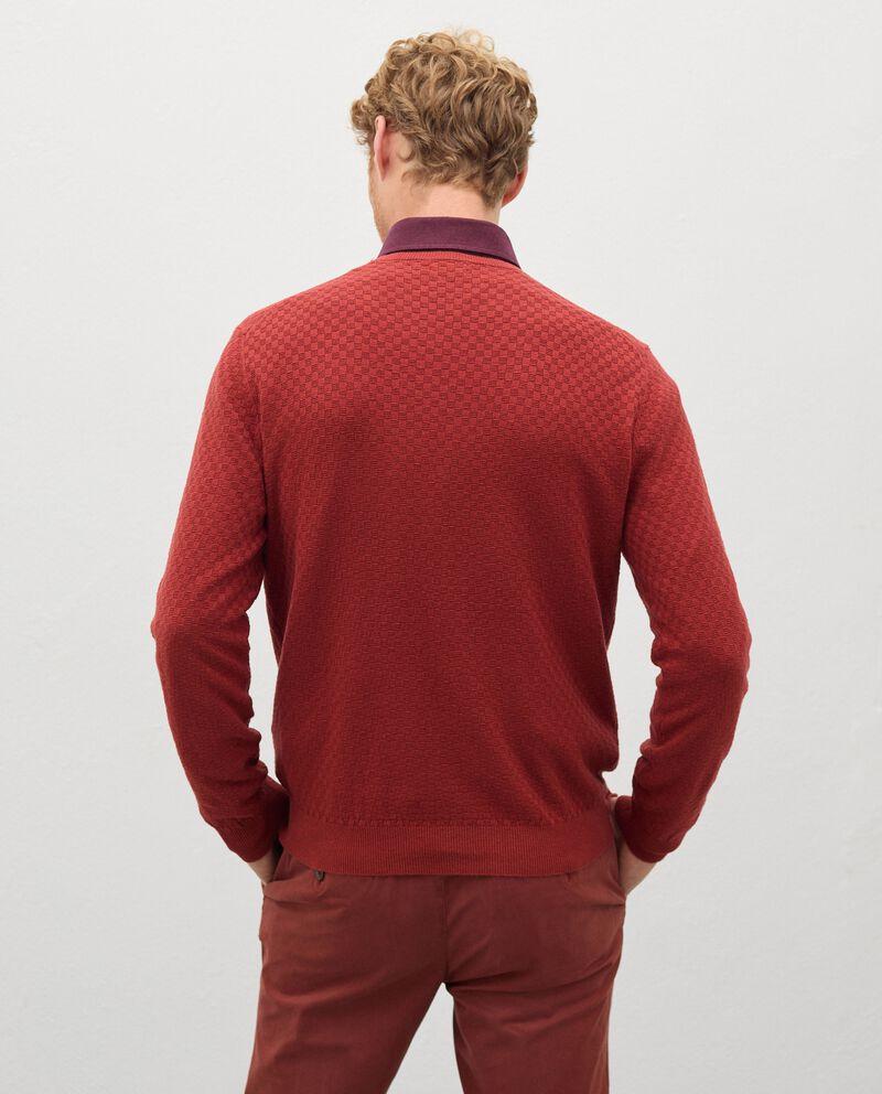 Pullover tricot in misto cashmere uomo single tile 1