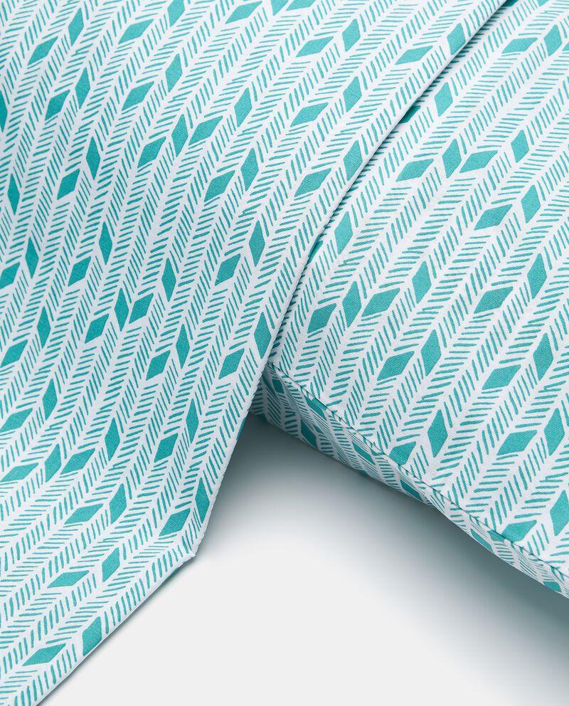 Parure lenzuolo puro cotone stampato
