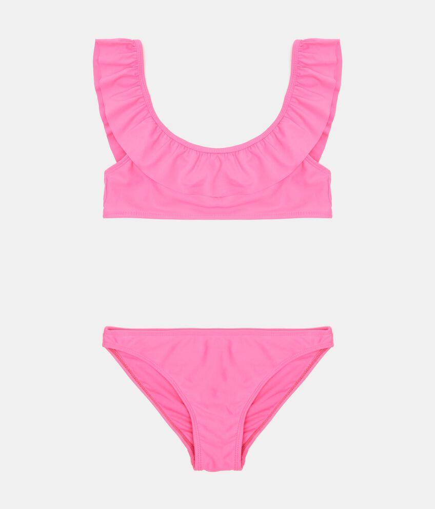 Costume bikini in tinta unita double 1