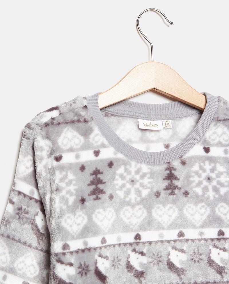 Set pigiama con fantasia natalizia