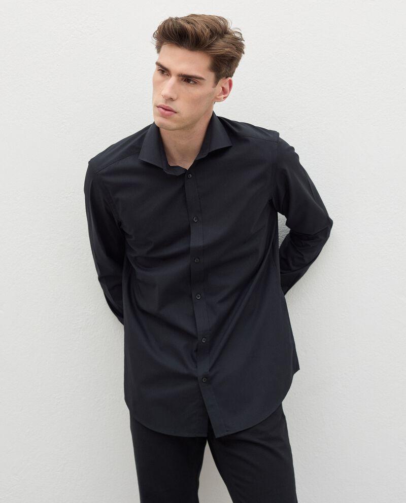 Camicia elegante in cotone uomo cover