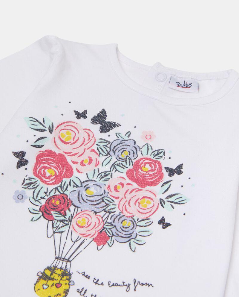 T-shirt con ruche sul fondo neonata